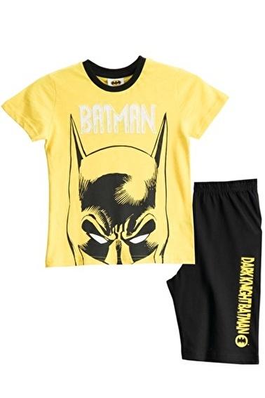 Batman Batman Lisanslı Turkuaz Erkek Çocuk Bermuda Takımı Renkli